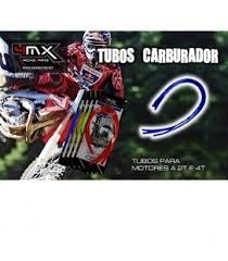 KIT TUBOS SOBRANTE CARBURADOR 4MX AT CV4YZ AZULES
