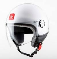 CASCO MT ZYCLO JET BLANCO