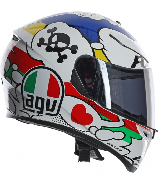 CASCO AGV K-3 SV COMIC