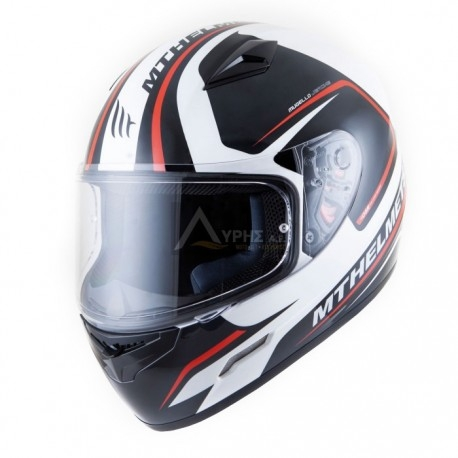CASCO MT MUGELLO JEROME BLANCO-ANTRACITA-ROJO