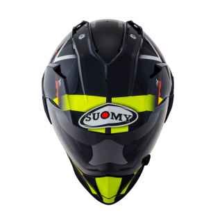 CASCO SUOMY MX TOURER AMARILLO