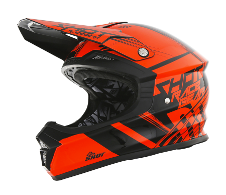 CASCO SHOT CLAW NARANJA FLUOR