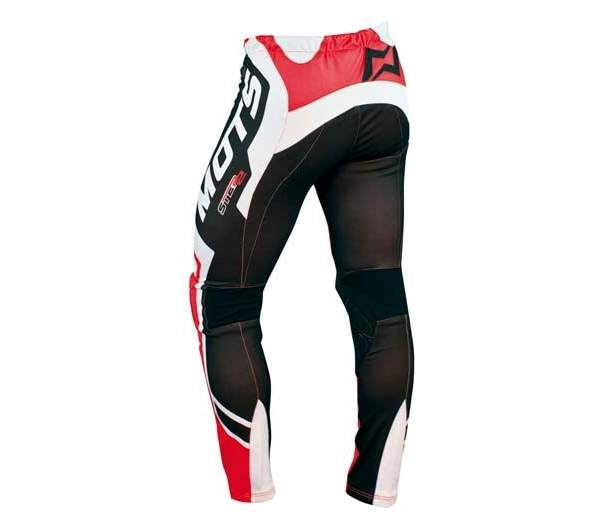PANTALON TRIAL MOTS STEP2 ROJO