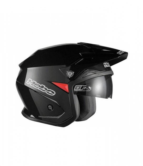 CASCO HEBO TRIAL ZONE 5 NEGRO