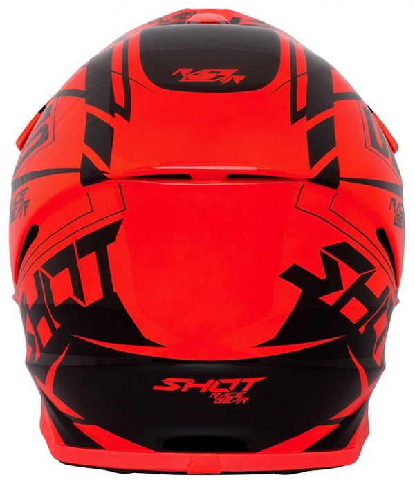 CASCO SHOT FURIOUS ALERT NARANJA NEON BRILLO 2018