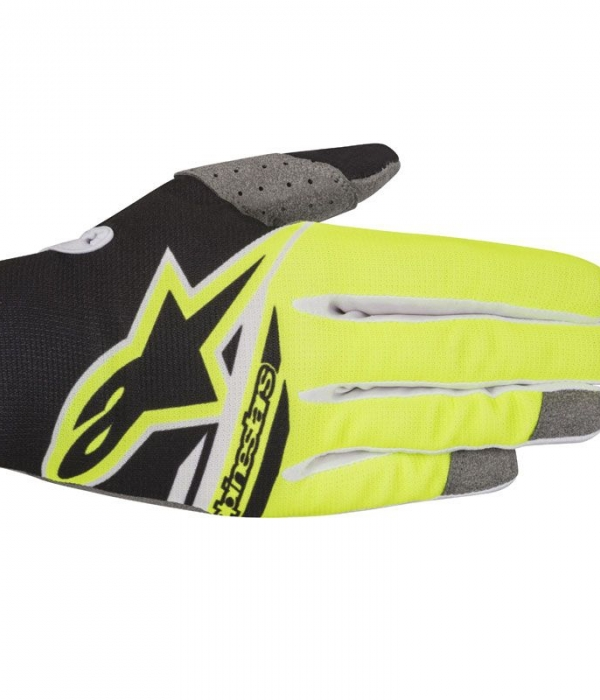 GUANTES ALPINESTARS RADAR FLIGHT NEGRO-FLUOR