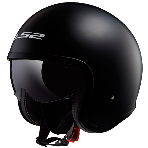 CASCO LS2 OF599 SPITFIRE NEGRO MATE