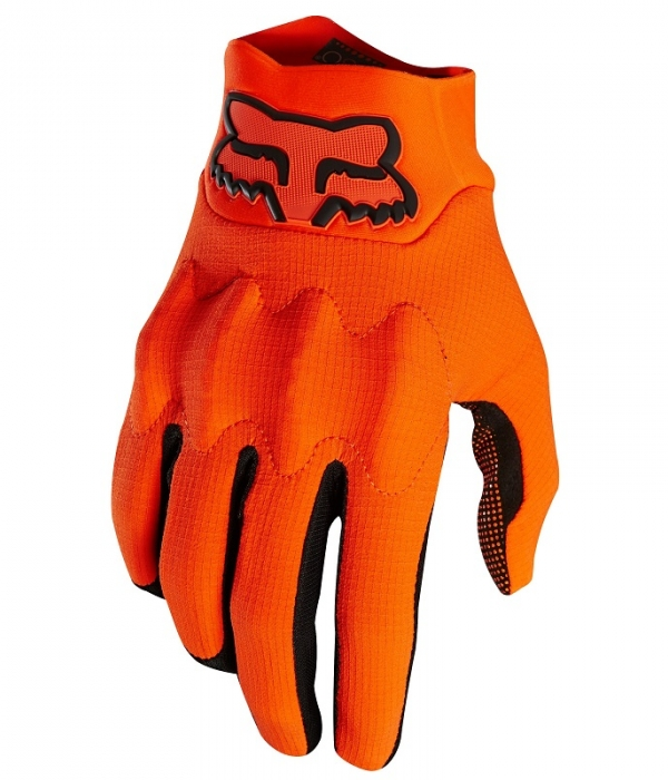 GUANTES FOX BOMBER LIGHT NARANJA