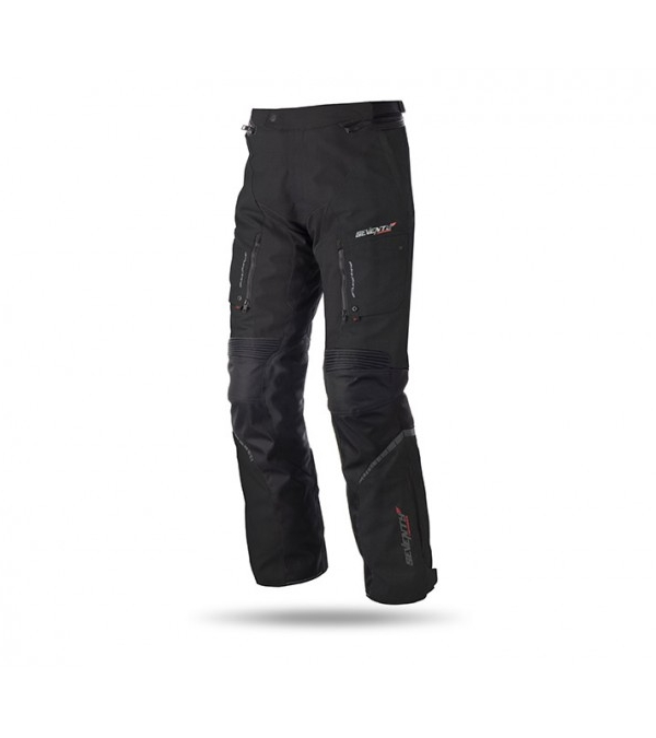 PANTALÓN SEVENTY DEGREES SD-PT1 TOURING INVIERNO TRIPLE CAPA NEGRO