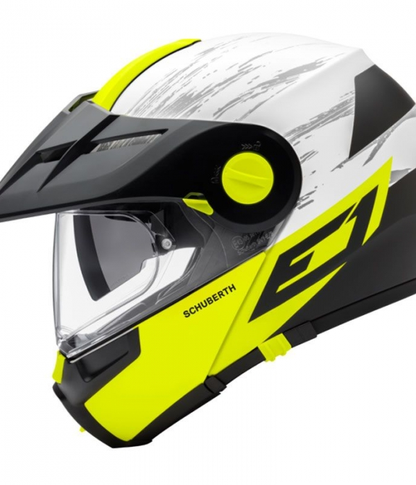 CASCO SCHUBERTH E1 CROSSFIRE AMARILLO MATE
