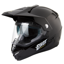 CASCO OFF ROAD CON PANTALLA SHOT RAMBLER NEGRO