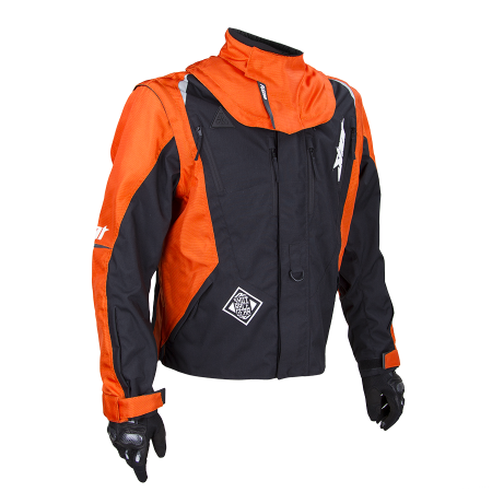 CHAQUETA SHOT FLEXOR ADVANCE NARANJA