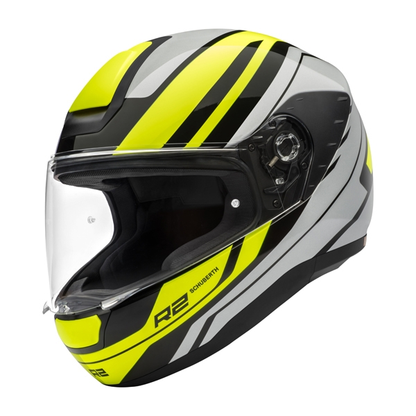 CASCO SCHUBERTH R2 ENFORCER AMARILLO BRILLO