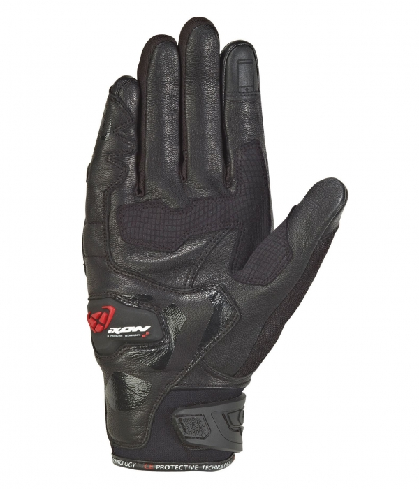 GUANTES IXON RS RISE AIR NEGRO MAN
