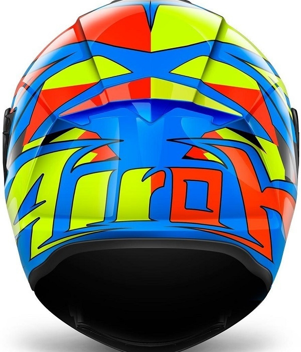 CASCO AIROH ST 501 THUNDER AZUL BRILLO