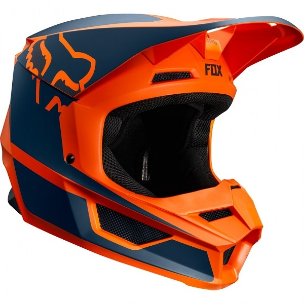 CASCO FOX V1 PRZM NARANJA 2019
