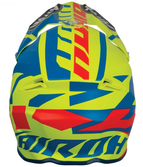 CASCO AIROH TWIST GREAT AZURE MATT