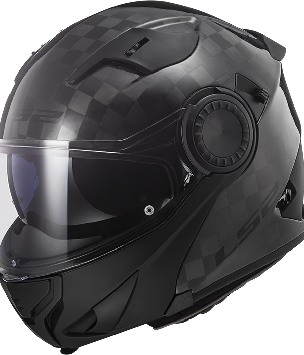 CASCO LS2  FF313 VORTEX GLOSS CARBON