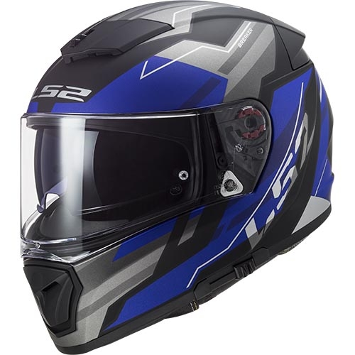 CASCO LS2 FF390 BREAKER BETA MATE - AZUL