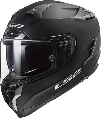 CASCO LS2 FF327 CHALLENGER SOLID NEGRO MATE