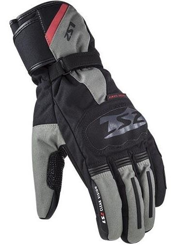 GUANTES LS2 SNOW MAN GLOVES BLACK GREY